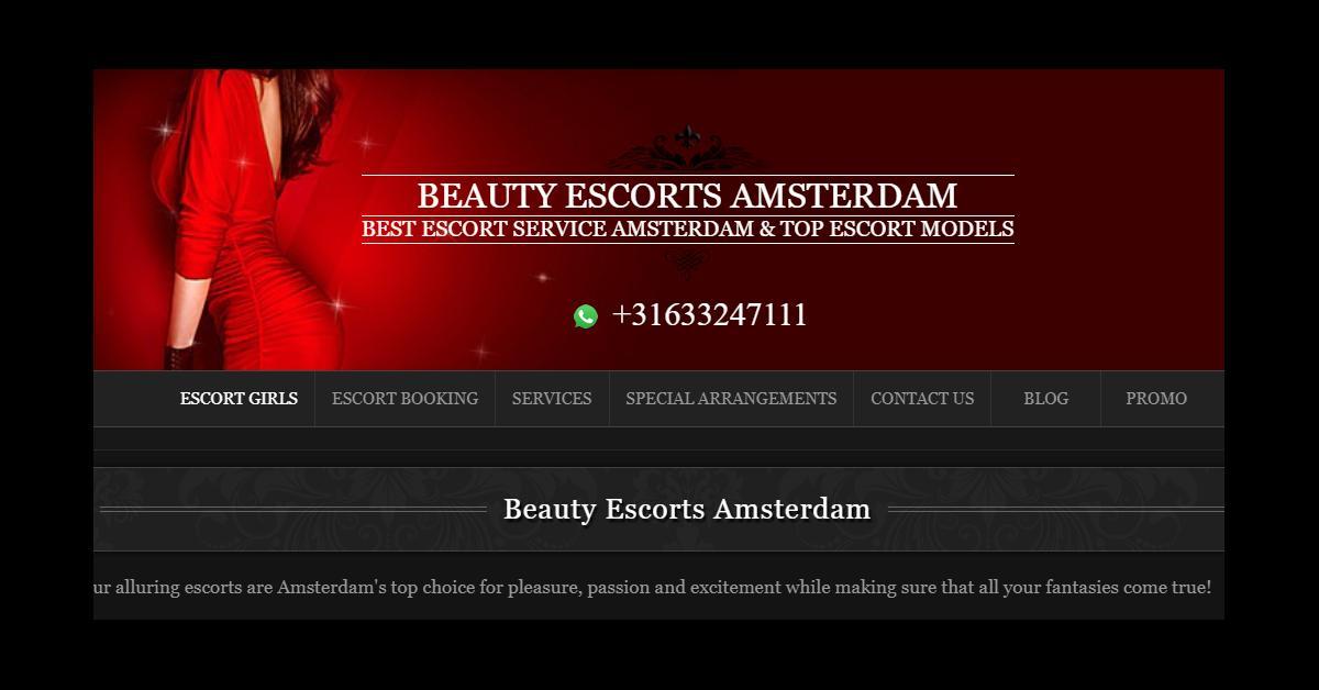 amsterdam escort services
